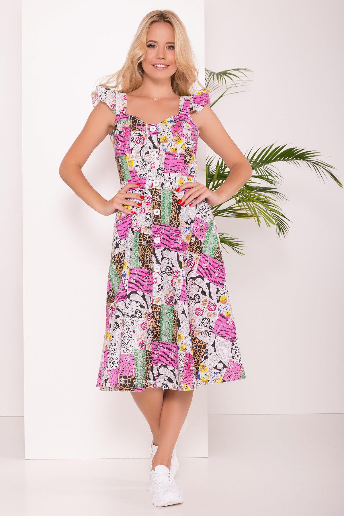 платье летние Платье ниже колена Ундина 7628