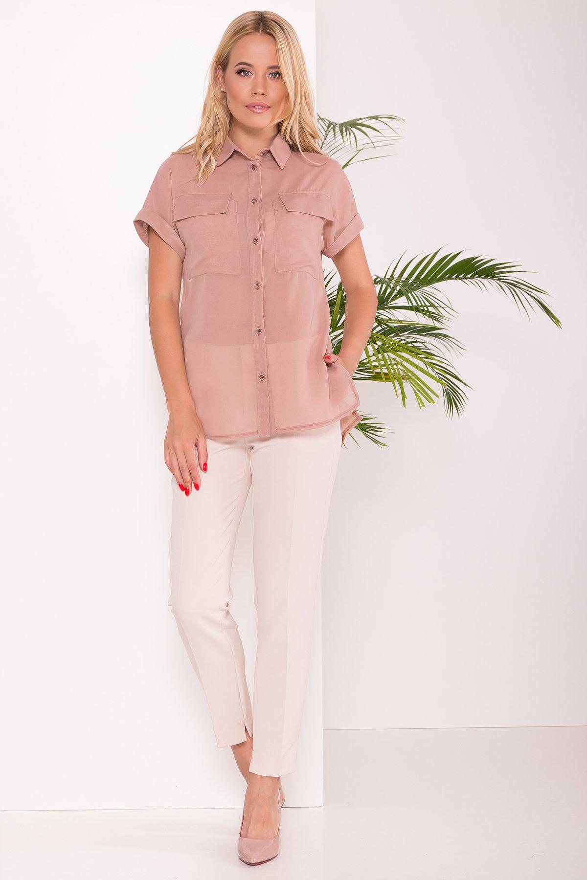 Купить блузку женскую от Modus Шифоновая Рубашка Айра 7456