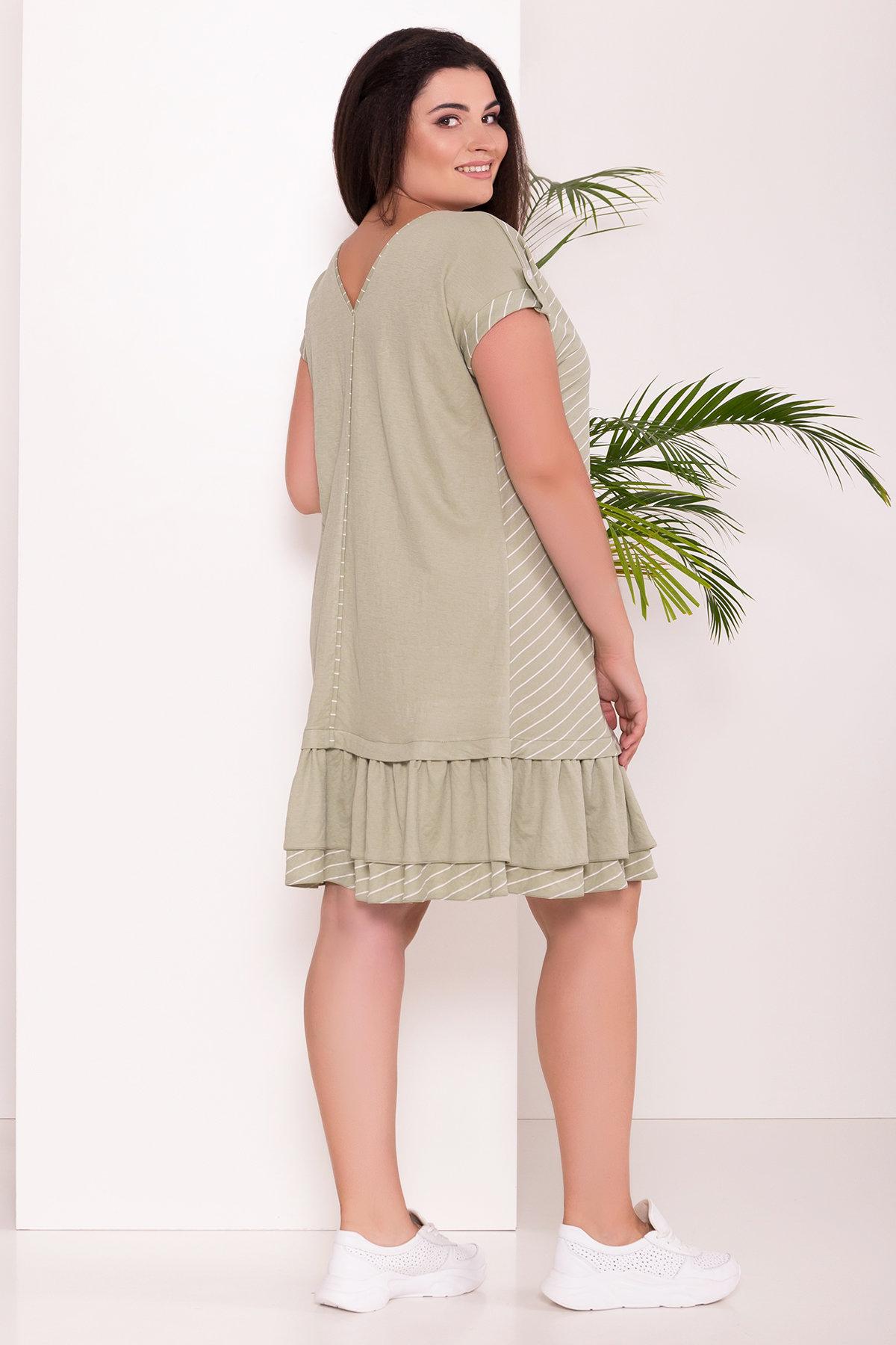 Платье Шеги Donna  7581 Цвет: Олива