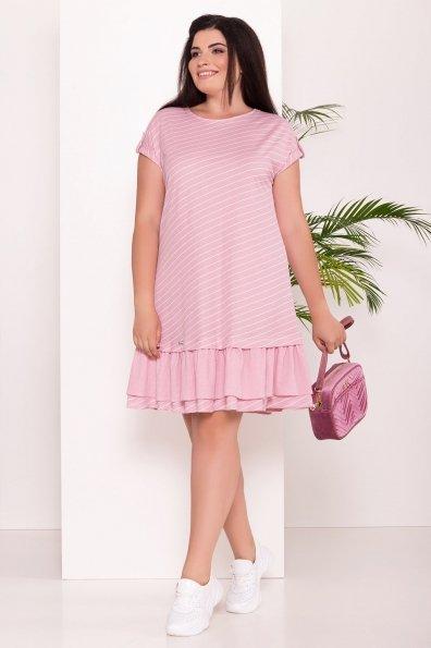 Платье Шеги Donna  7581 Цвет: Розовый