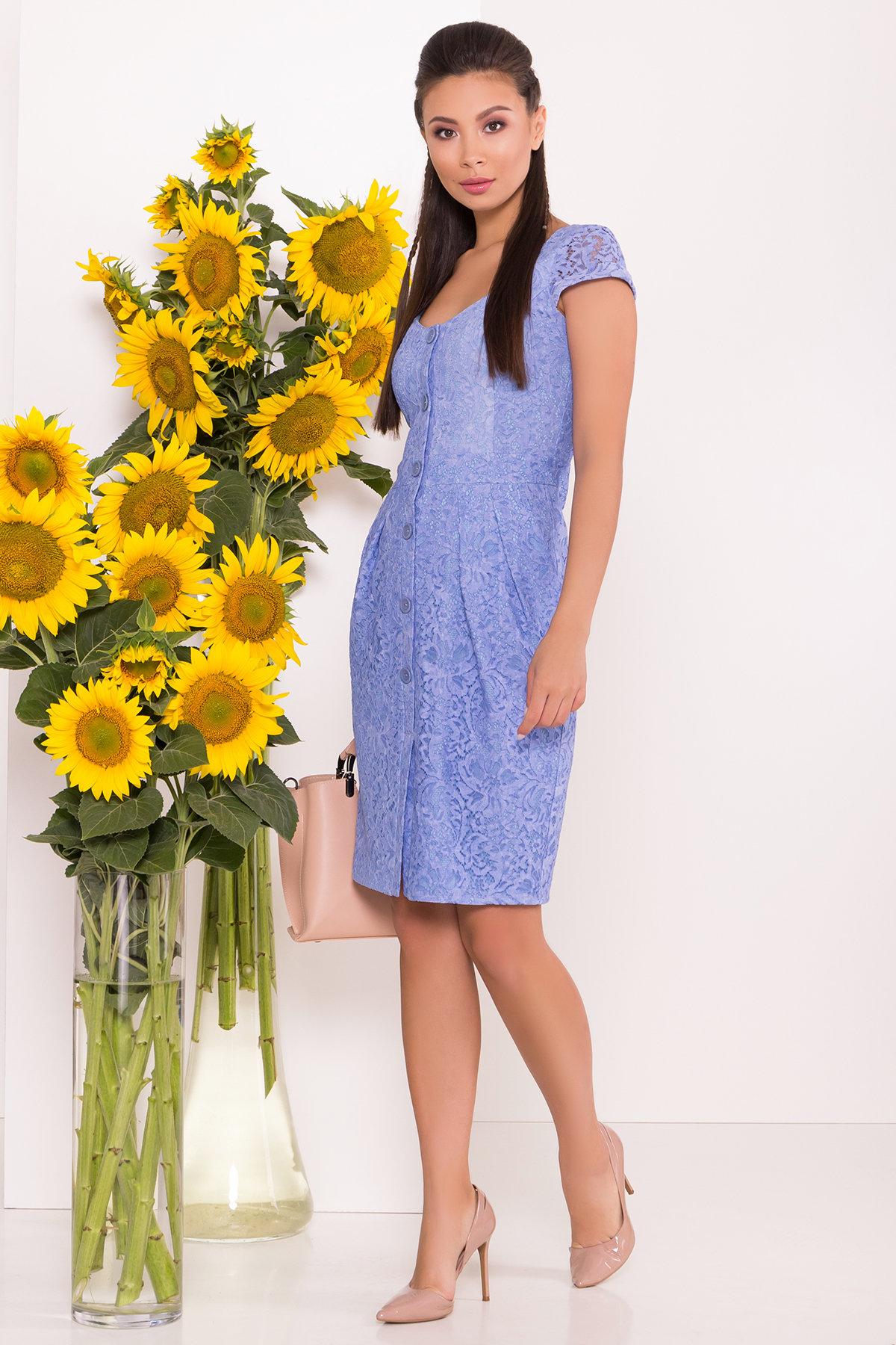 Платье Марсель 7614 Цвет: Голубой