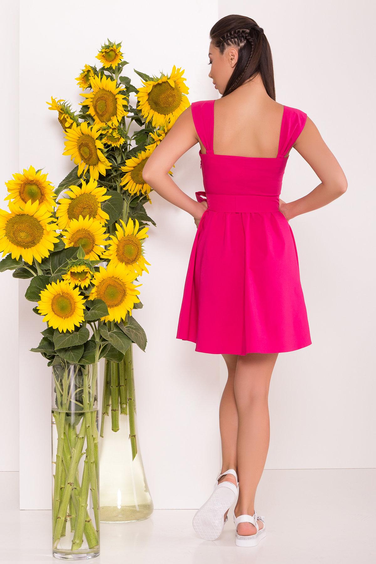 Платье Джонни 7413 АРТ. 43543 Цвет: Коралл - фото 2, интернет магазин tm-modus.ru