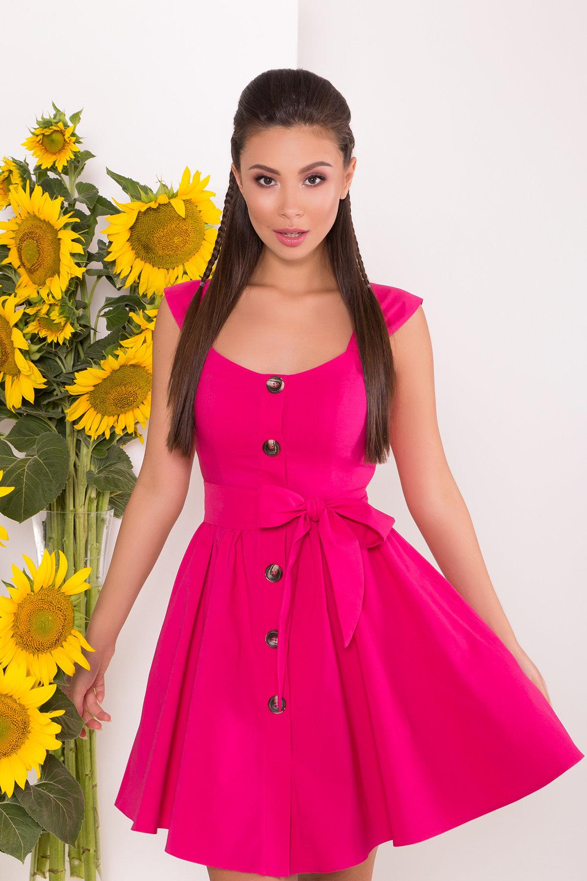 Платье Джонни 7413 АРТ. 43543 Цвет: Коралл - фото 3, интернет магазин tm-modus.ru