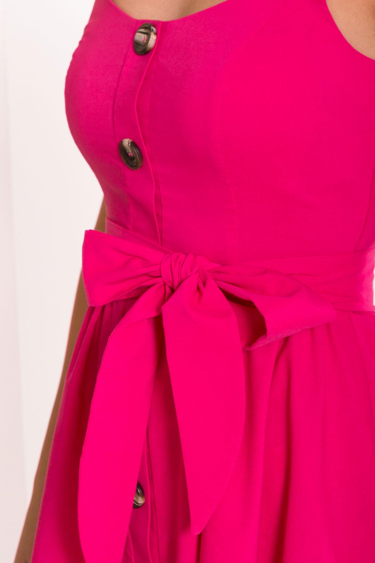 Платье Джонни 7413 АРТ. 43543 Цвет: Коралл - фото 4, интернет магазин tm-modus.ru