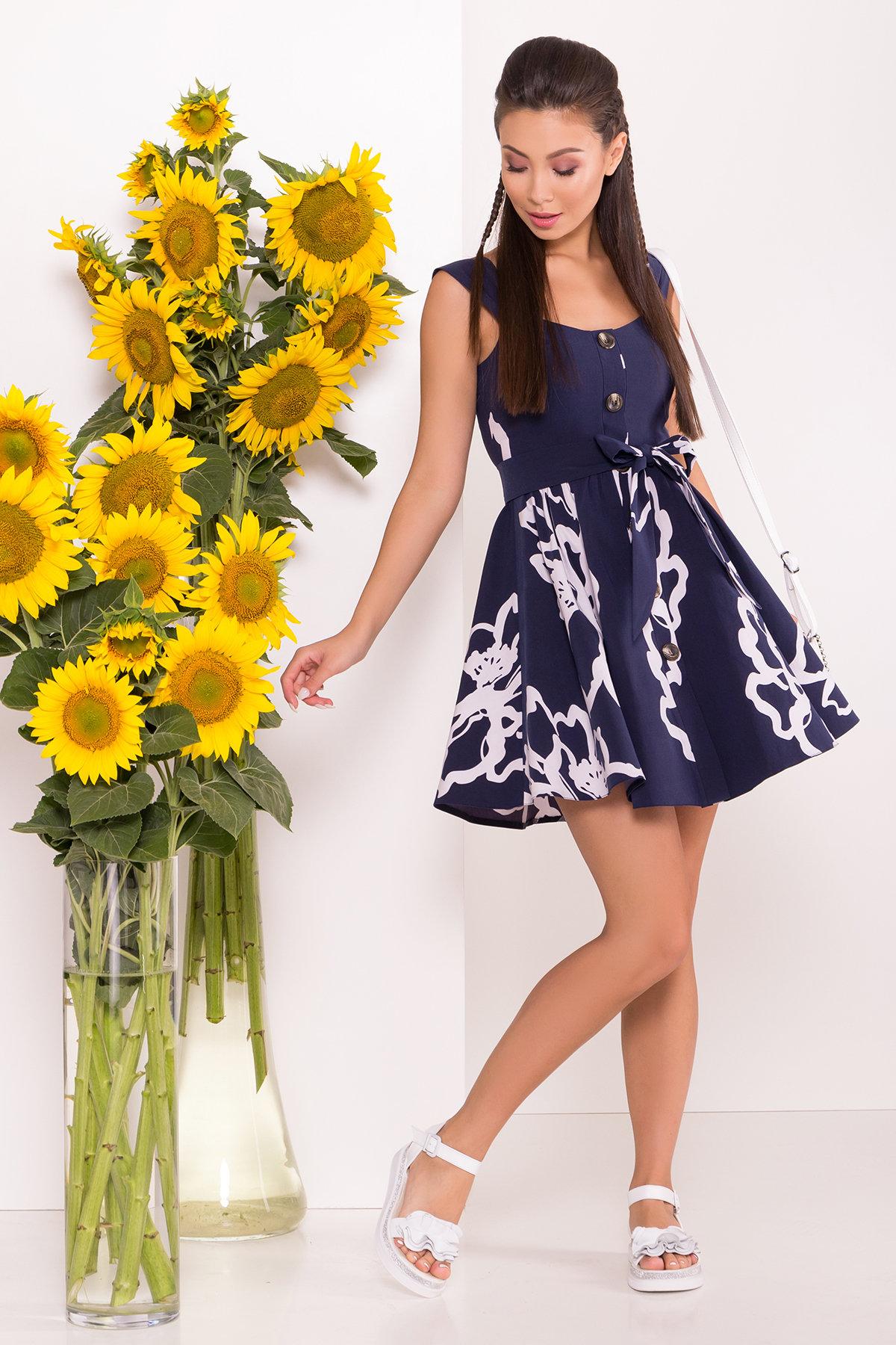 летние платья из шифона Платье Джонни 7615