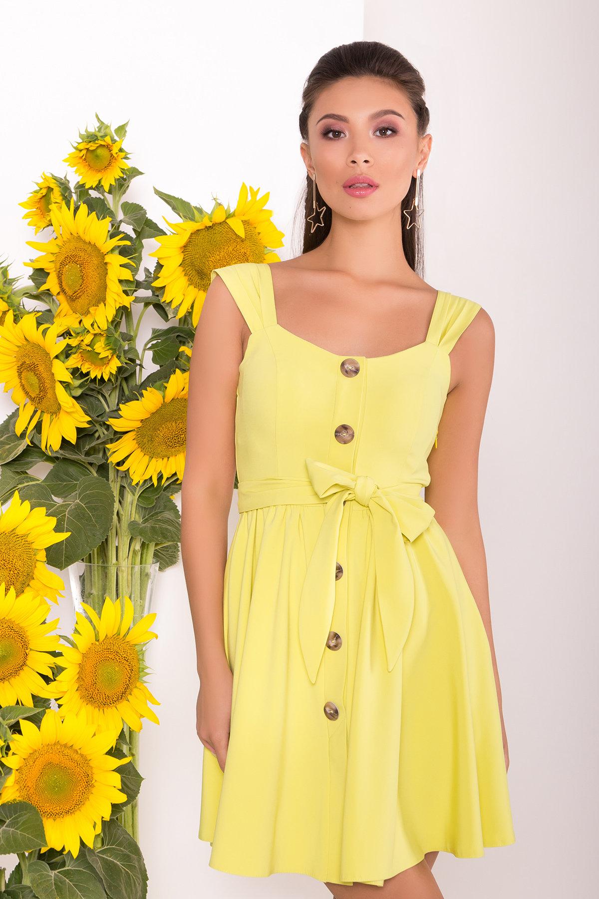 Платье Джонни 7591 Цвет: Желтый