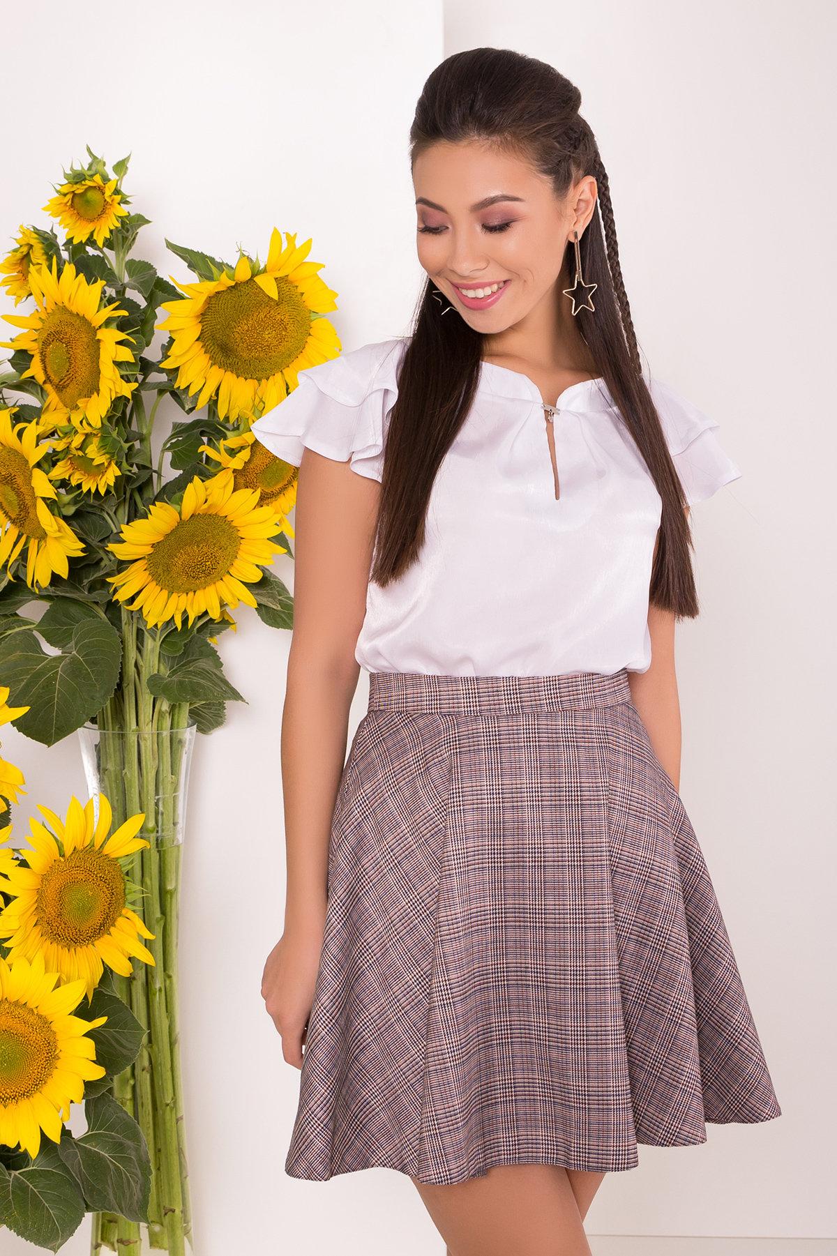 Купить женские юбки оптом  Юбка-солнце Джулиани 6757