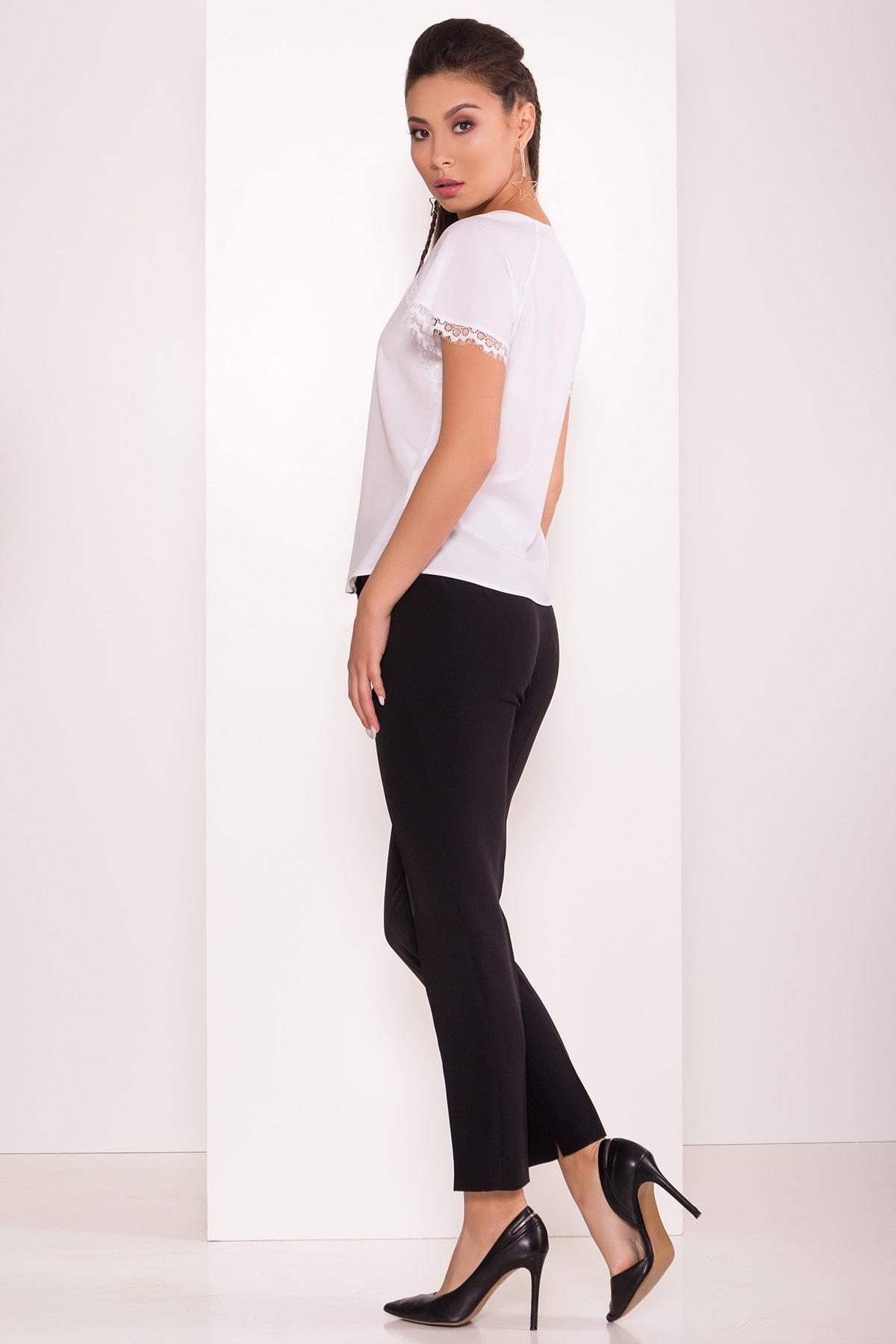 Базовые брюки со стрелками Эдвин 2467 АРТ. 16304 Цвет: Черный - фото 3, интернет магазин tm-modus.ru