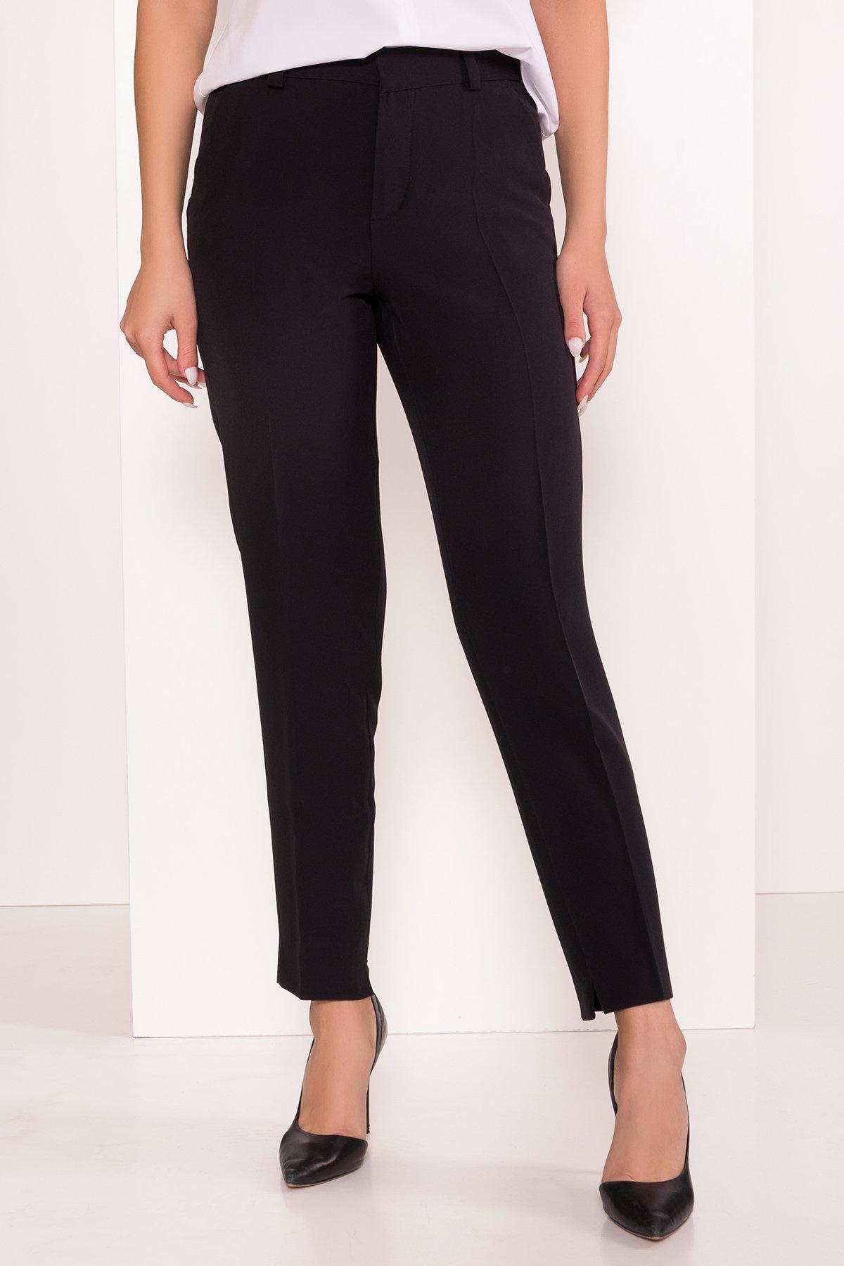 Базовые брюки со стрелками Эдвин 2467 АРТ. 16304 Цвет: Черный - фото 5, интернет магазин tm-modus.ru