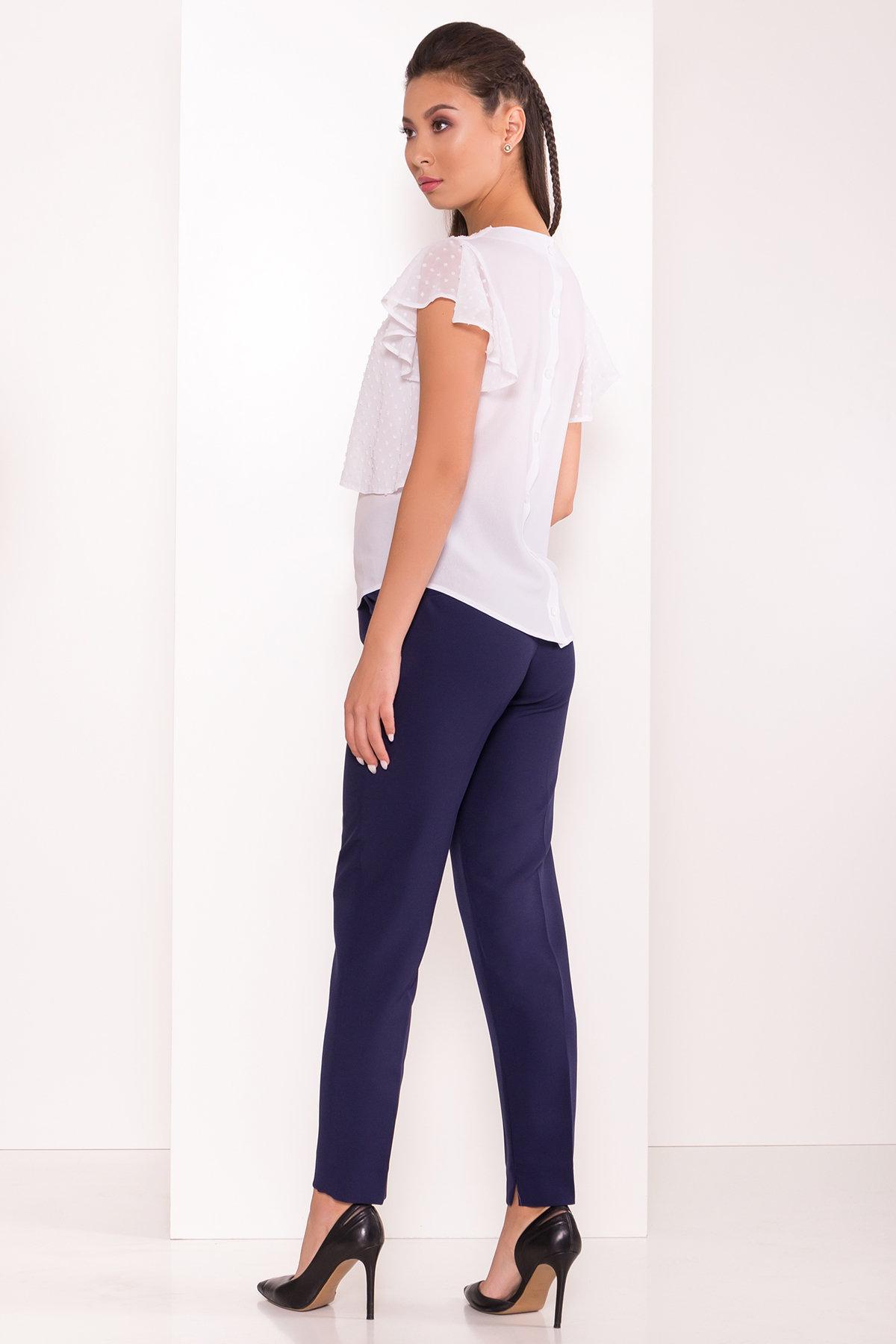 Базовые брюки со стрелками Эдвин 2467 АРТ. 15260 Цвет: Тёмно-синий - фото 3, интернет магазин tm-modus.ru