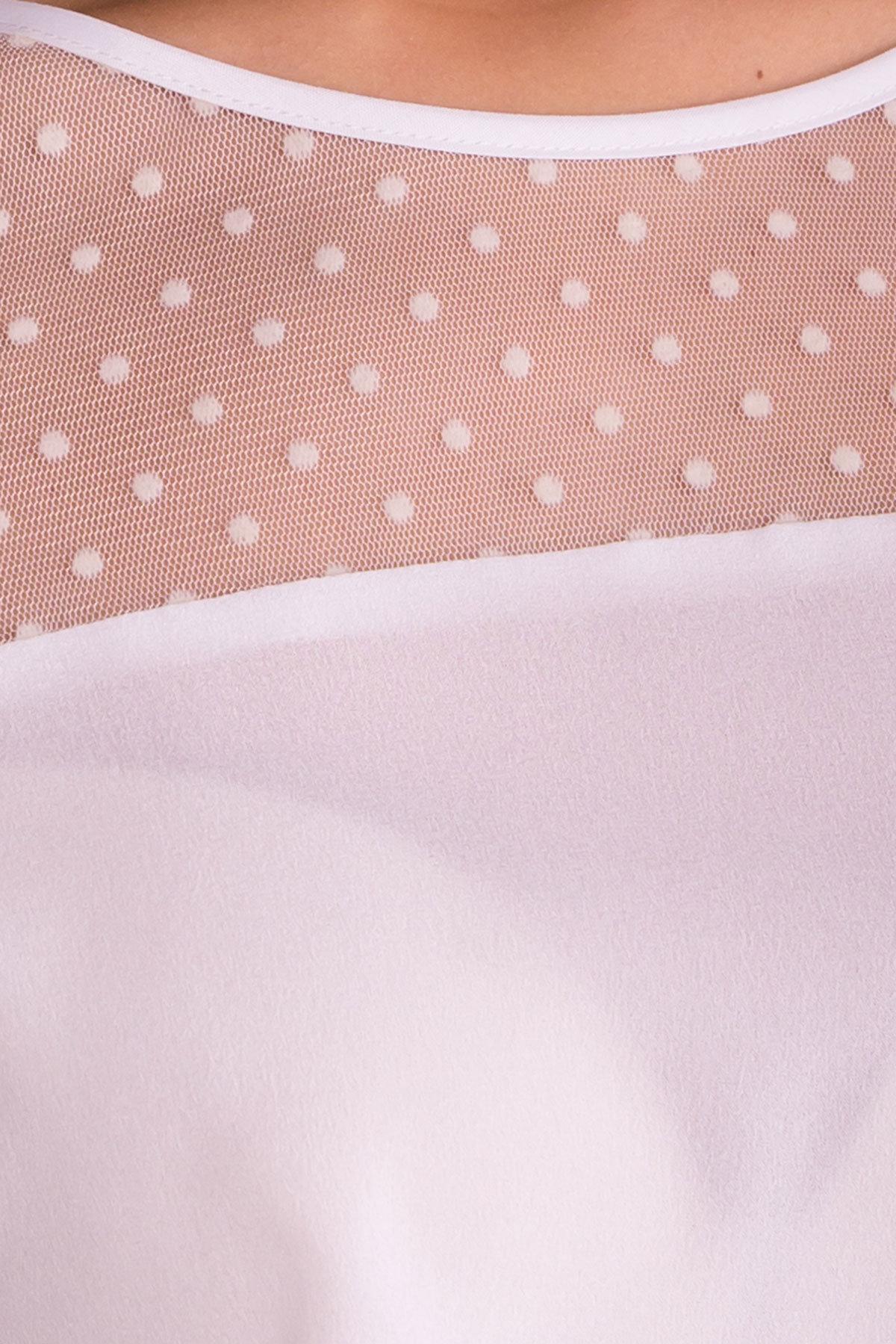 Блузка Свит 7669 Цвет: Белый