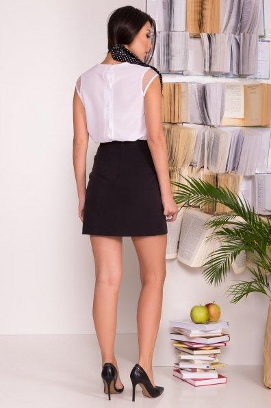 Трапециевидная юбка мини длины Ньюарк 7705 Цвет: Черный