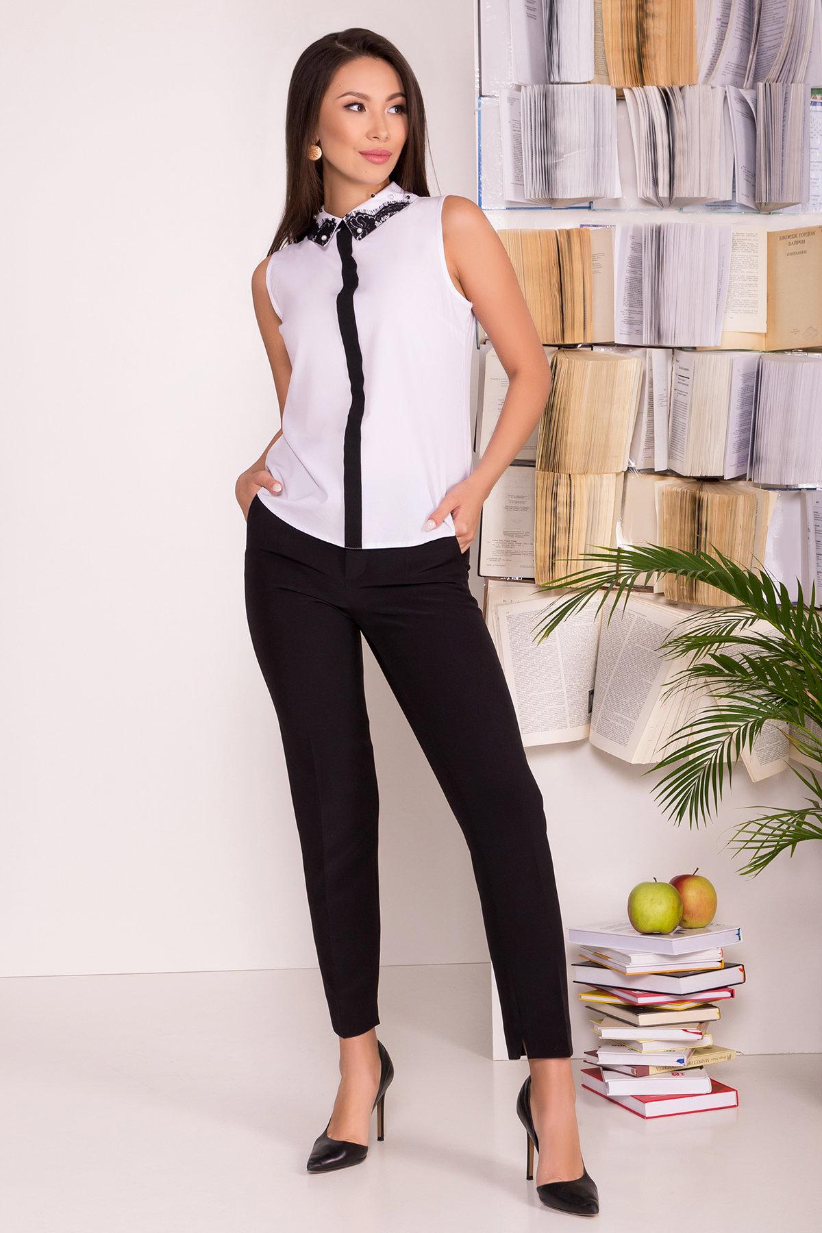 Купить в Украине рубашки женские от производителя Блузка с вертикальной вставкой Мурия 5220