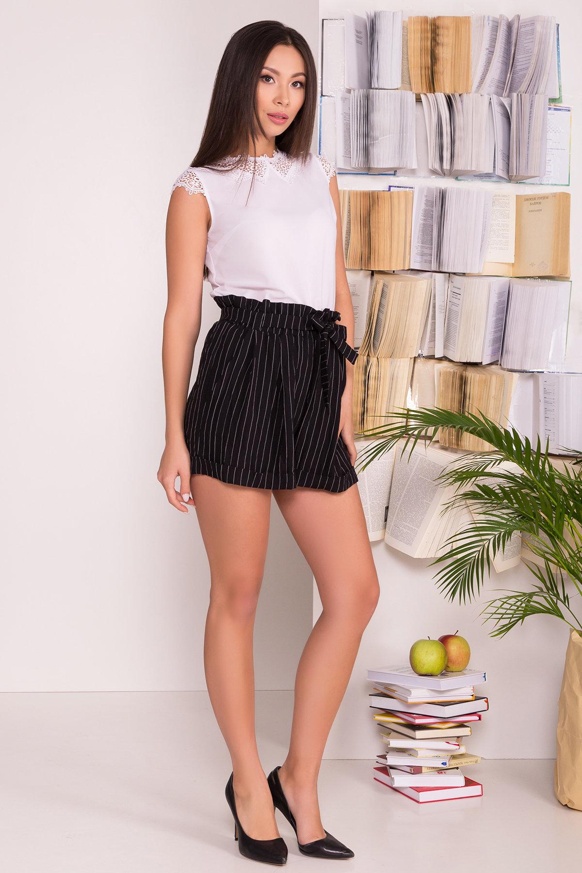 Блуза Алмея 7662 АРТ. 43605 Цвет: Белый (1) - фото 3, интернет магазин tm-modus.ru