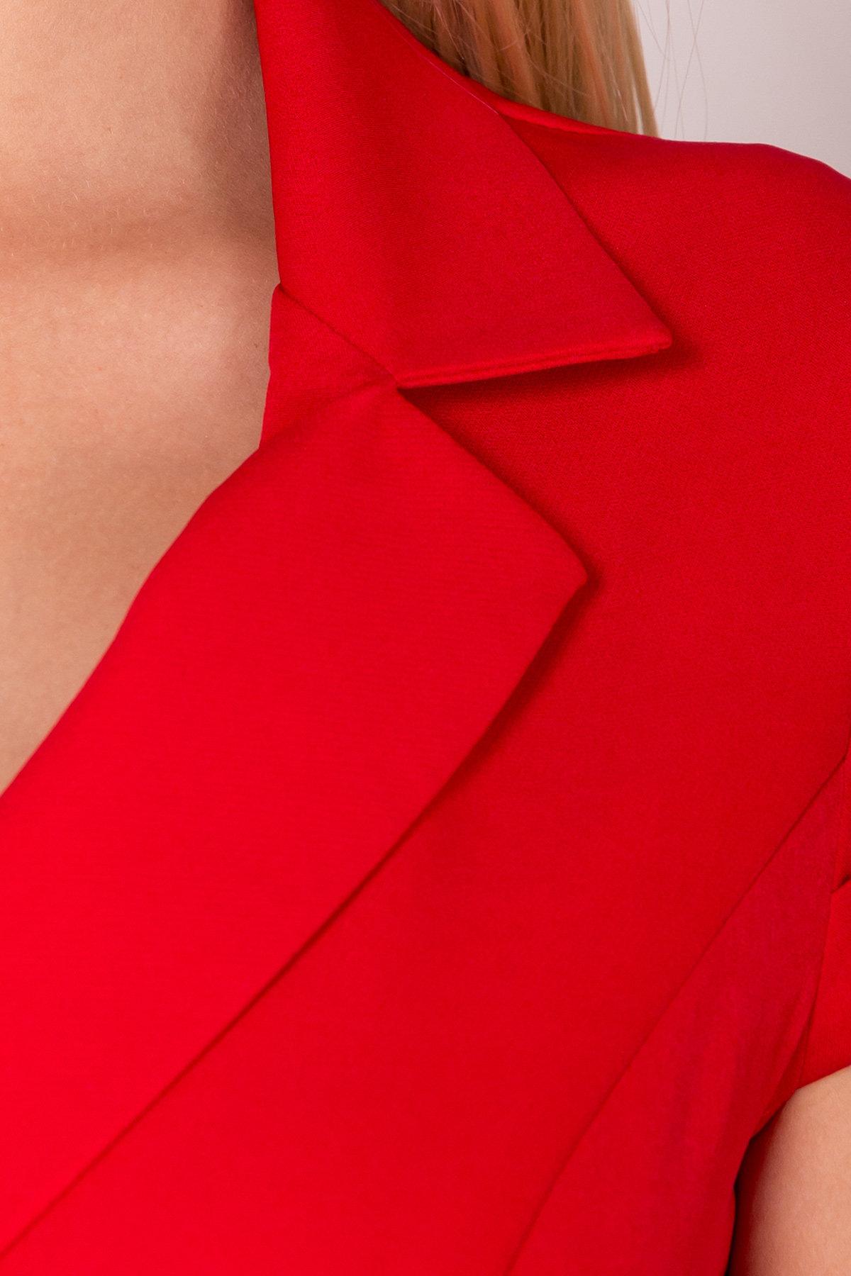 Комбинезон с брюками клеш Имидж 7442 Цвет: Красный