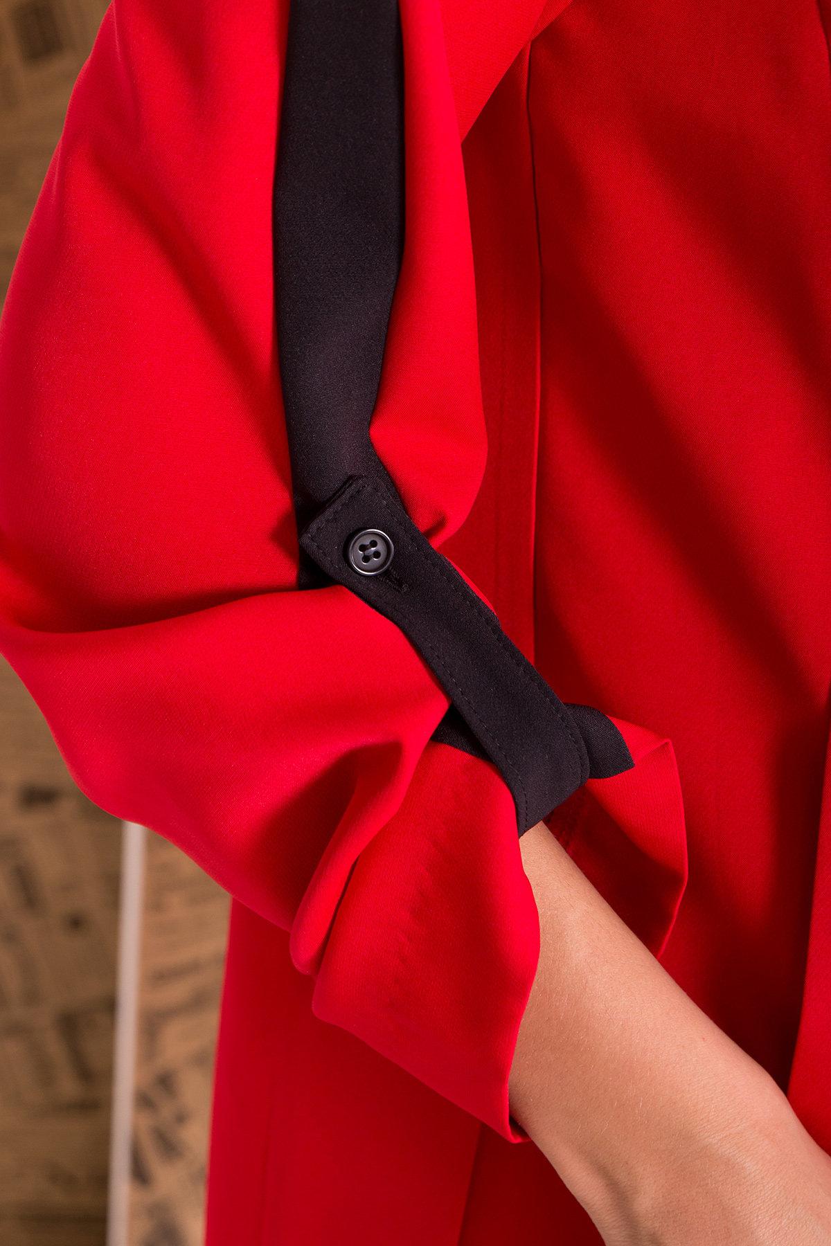 Костюм Макеба 7715 АРТ. 43619 Цвет: Красный/черный - фото 5, интернет магазин tm-modus.ru