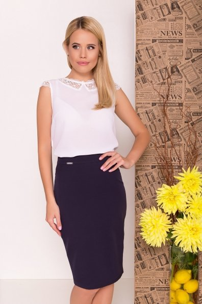 Блуза Алмея 7662 Цвет: Белый (1)