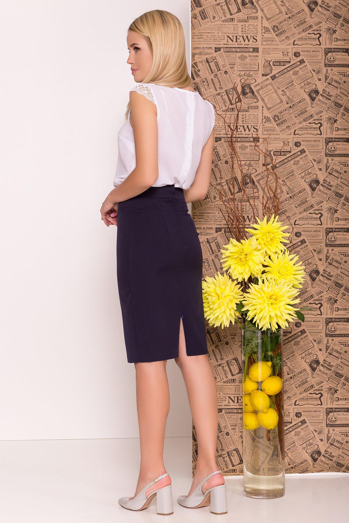 Блуза Алмея 7662 АРТ. 43605 Цвет: Белый (1) - фото 6, интернет магазин tm-modus.ru