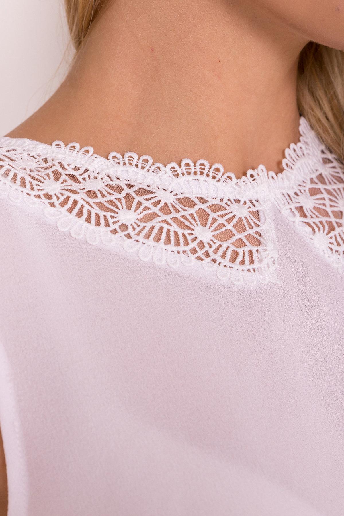 Блуза Алмея 7662 АРТ. 43605 Цвет: Белый (1) - фото 8, интернет магазин tm-modus.ru