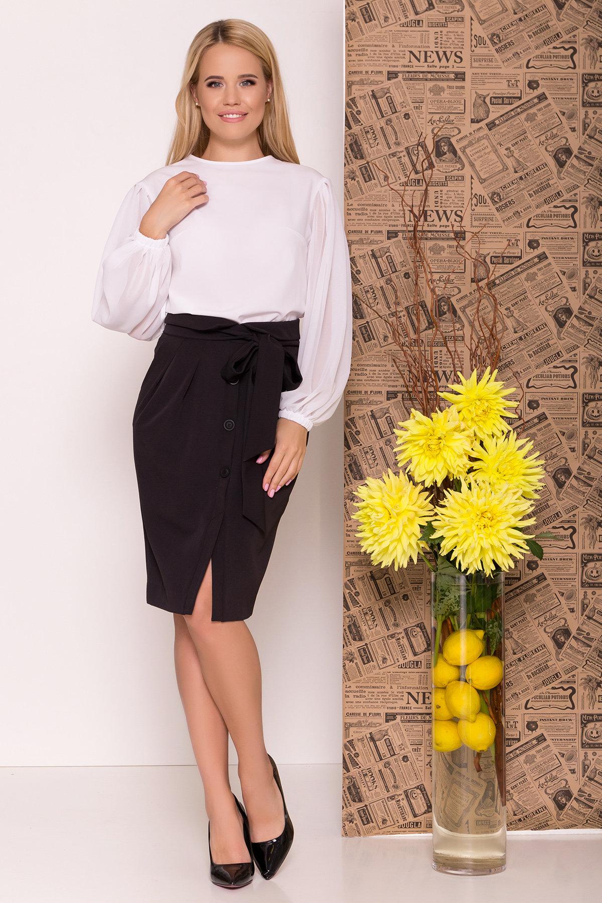Блуза Сейшил 7746 АРТ. 43641 Цвет: Белый - фото 1, интернет магазин tm-modus.ru