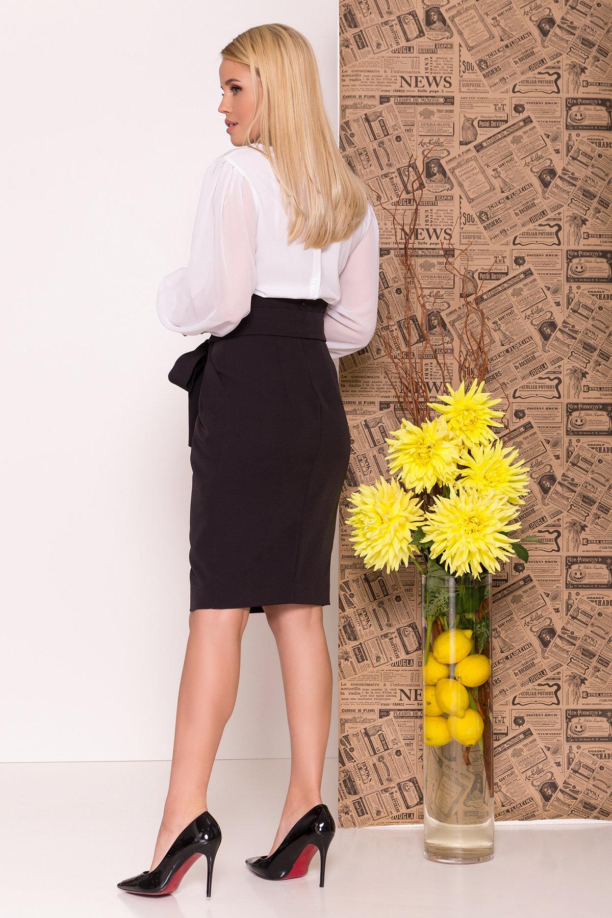 Блуза Сейшил 7746 АРТ. 43641 Цвет: Белый - фото 2, интернет магазин tm-modus.ru