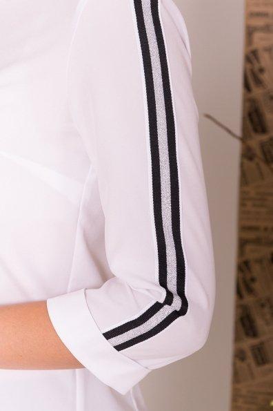 Рубашка с лампасами Джинджер 7761 Цвет: Белый