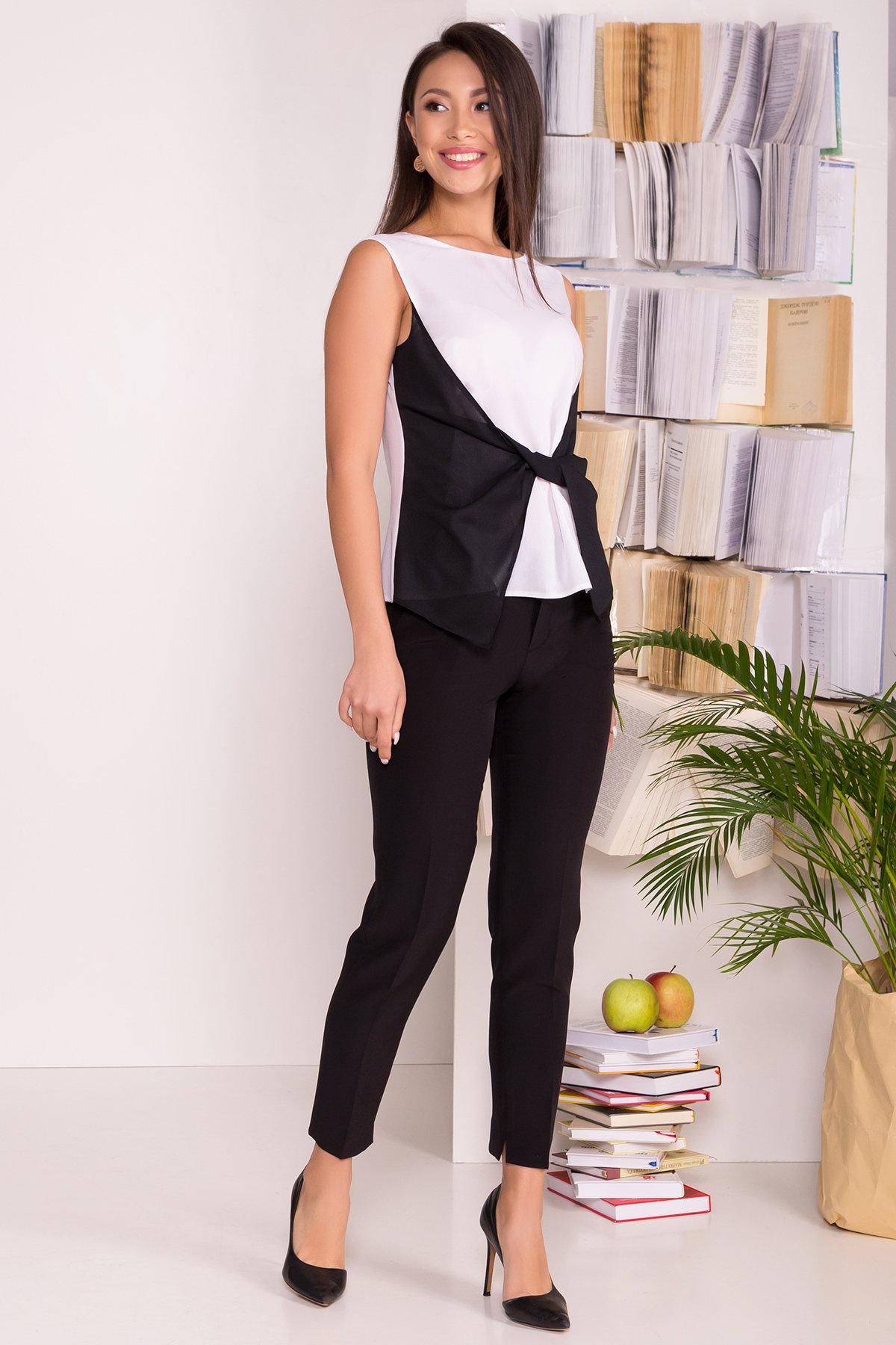 Блузы купить Украина от Modus Черно-белая блуза Борнео 7655