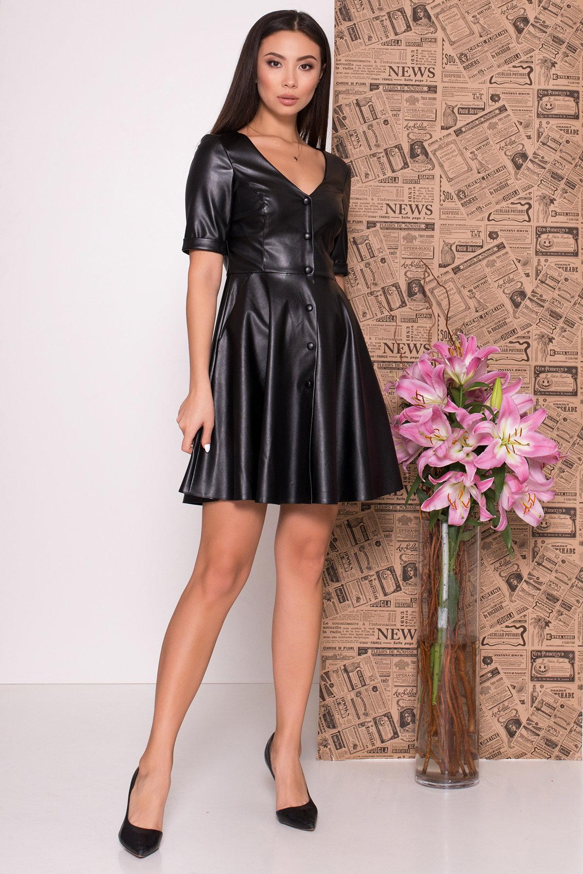 Купить женское платье Платье из экокожи Фернанда 7783