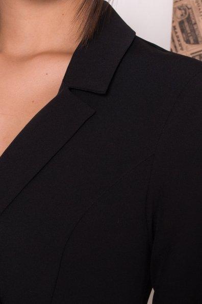 Платье в офис Артего 7832 Цвет: Черный