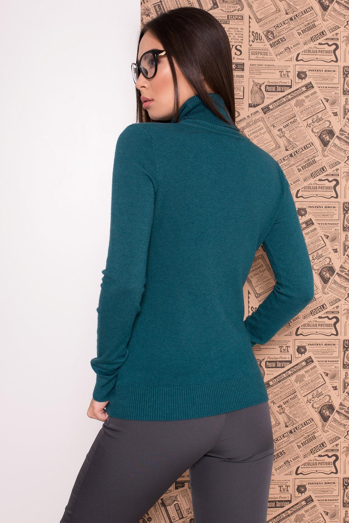 Гольф 7842 АРТ. 43739 Цвет: Сине-зеленый - фото 2, интернет магазин tm-modus.ru
