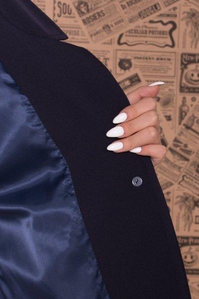 Брючный костюм с лампасами Макеба 7715 Цвет: Т.син/белый