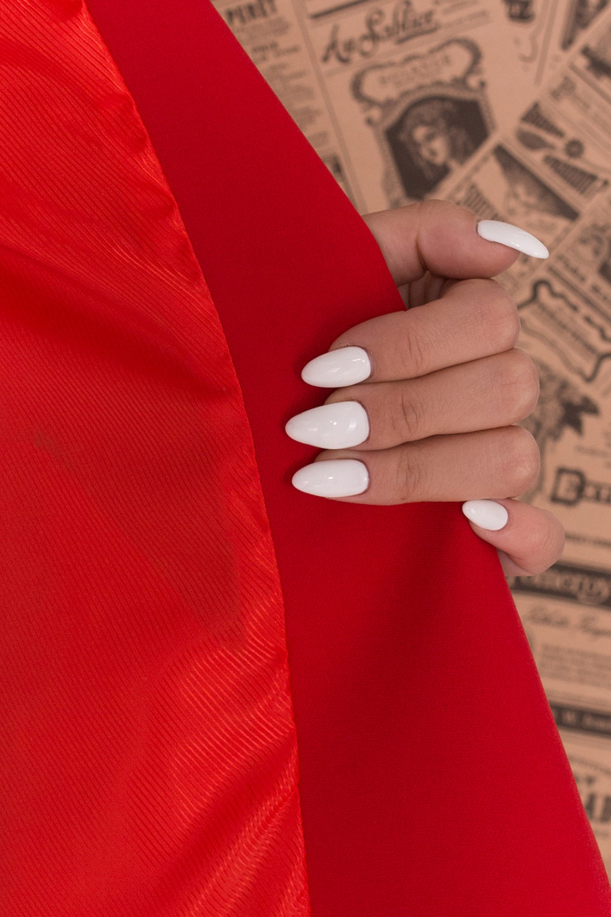 Костюм Макеба 7715 АРТ. 43619 Цвет: Красный/черный - фото 2, интернет магазин tm-modus.ru
