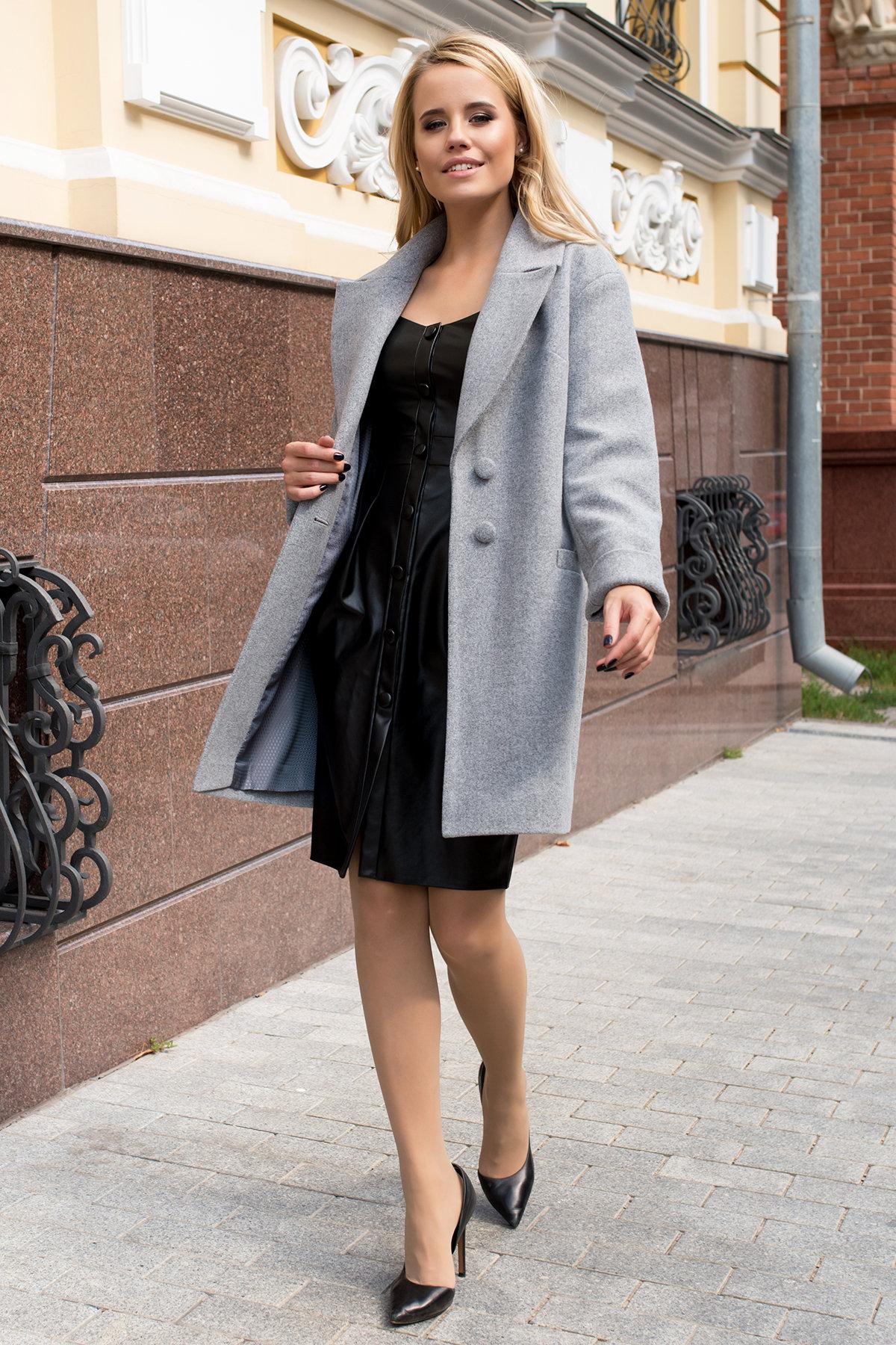 Пальто Вива 7865 Цвет: Серый 49
