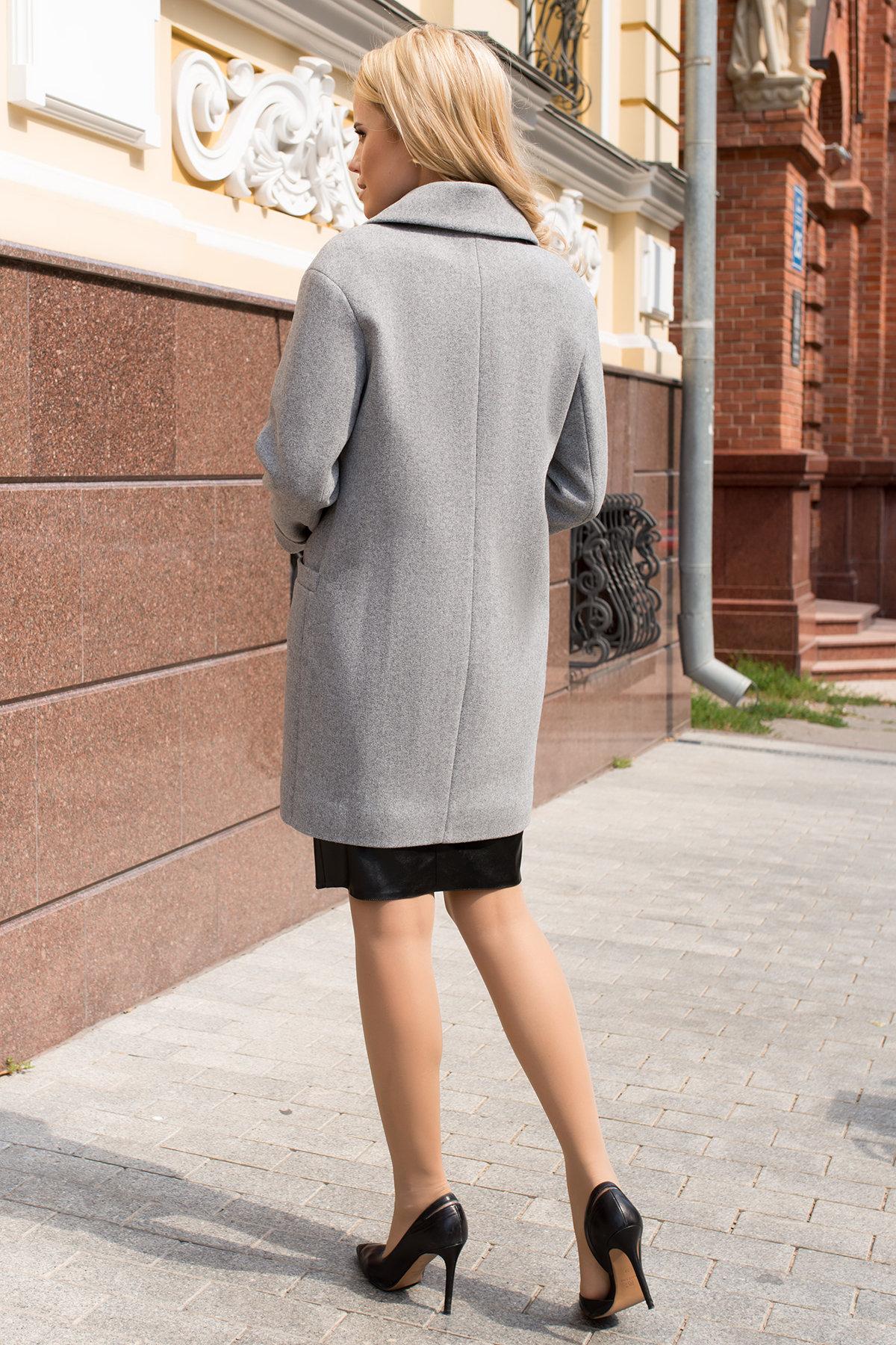 Демисезонные пальто Вива 7865 Цвет: Серый 49
