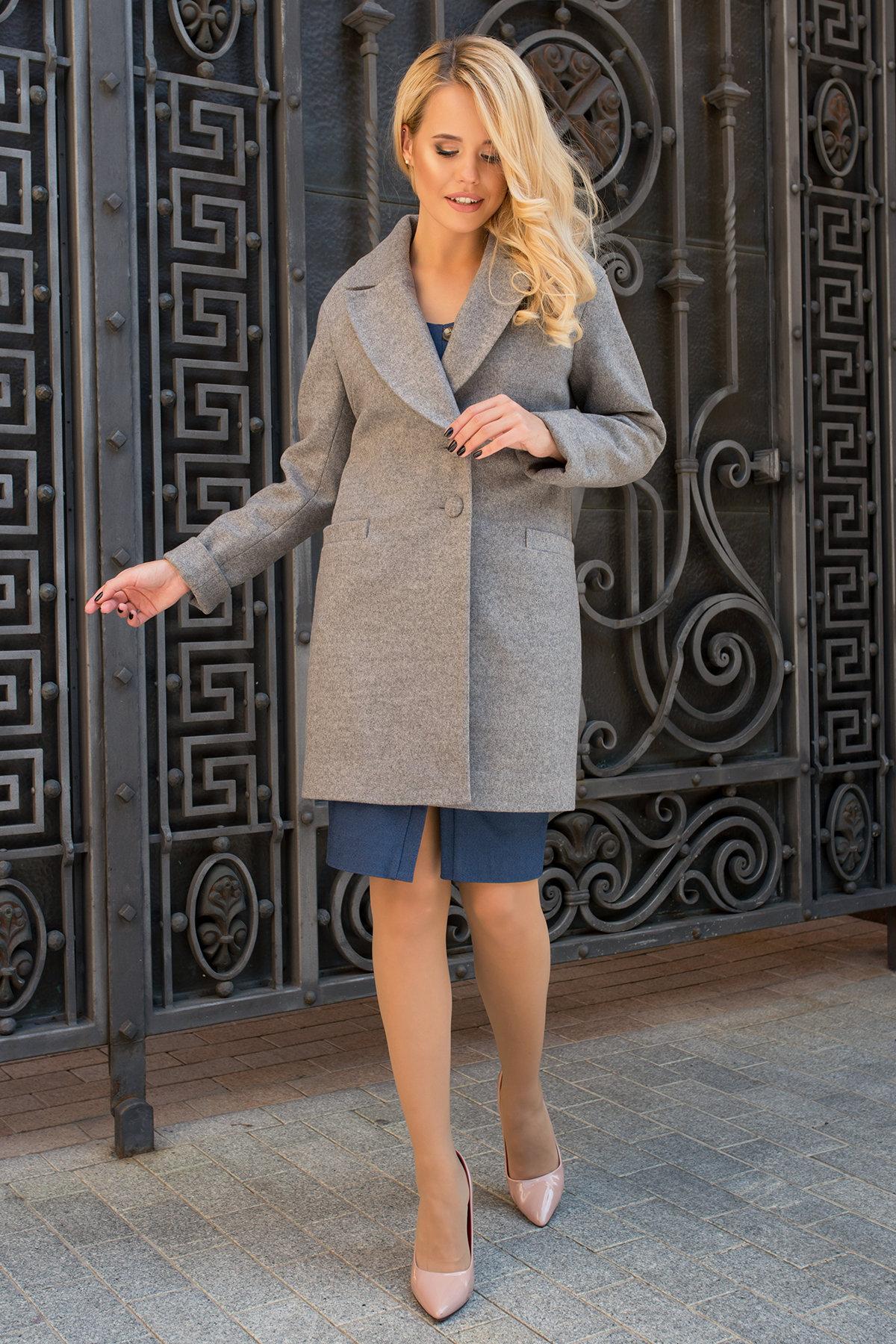 Пальто Вива 7868 АРТ. 43796 Цвет: Карамель 20 - фото 2, интернет магазин tm-modus.ru