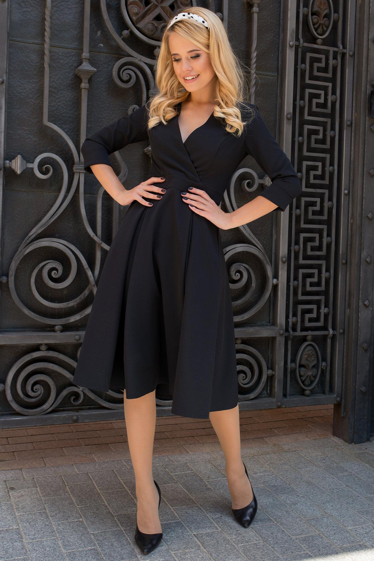 Женские платья оптом Платье с юбкой-солнце Аризона 7849