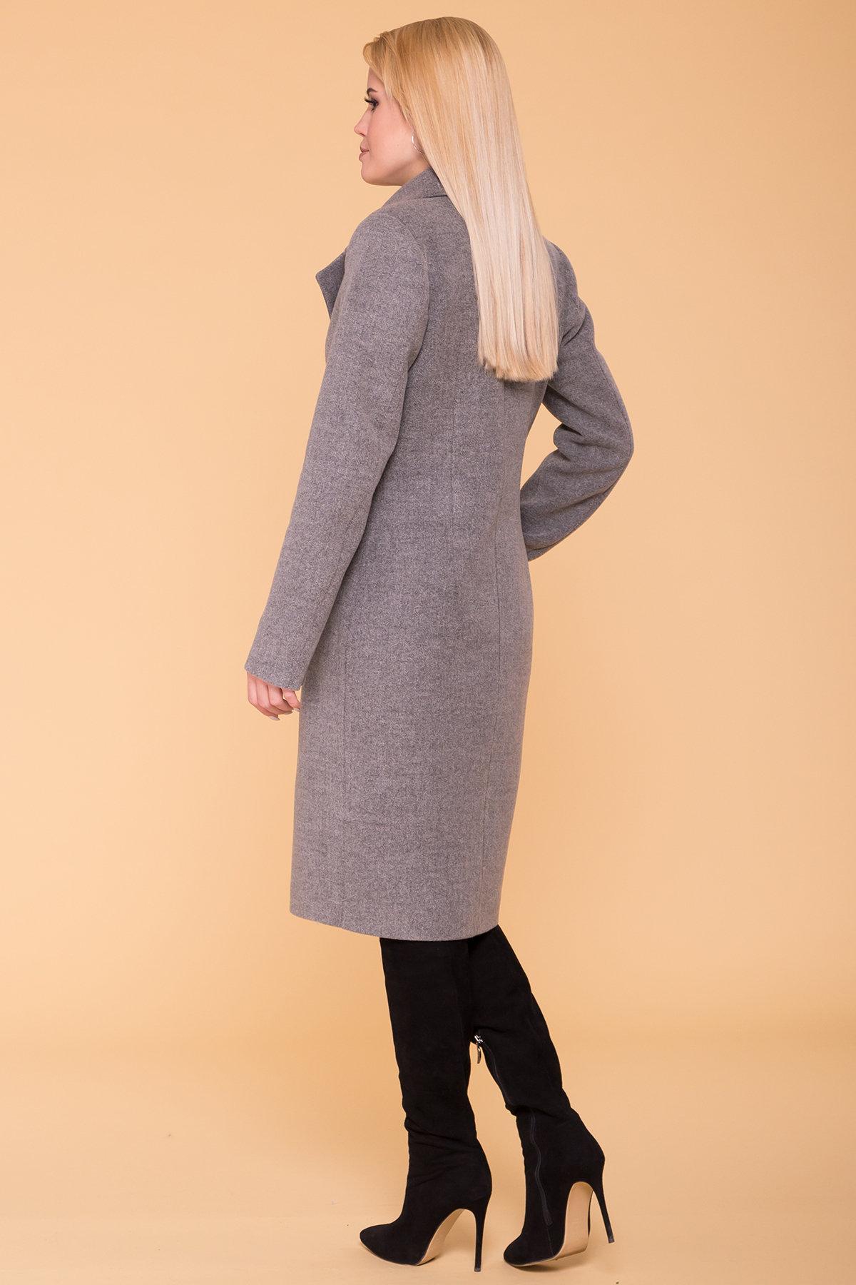 Пальто Габриэлла 7876 АРТ. 43819 Цвет: Серый 18 - фото 3, интернет магазин tm-modus.ru