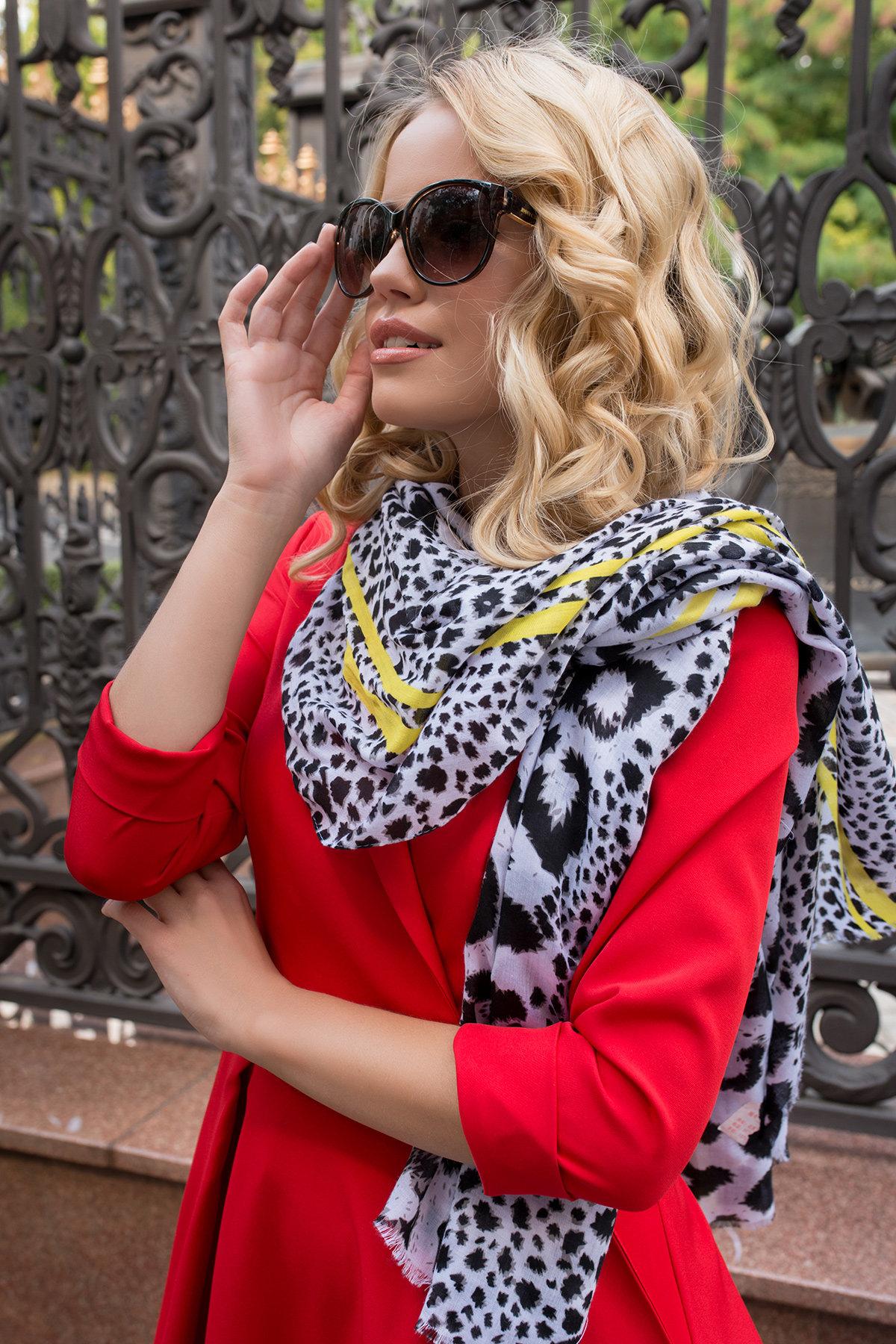 Платье в офис Артего 7832 АРТ. 43767 Цвет: Красный 4 - фото 7, интернет магазин tm-modus.ru