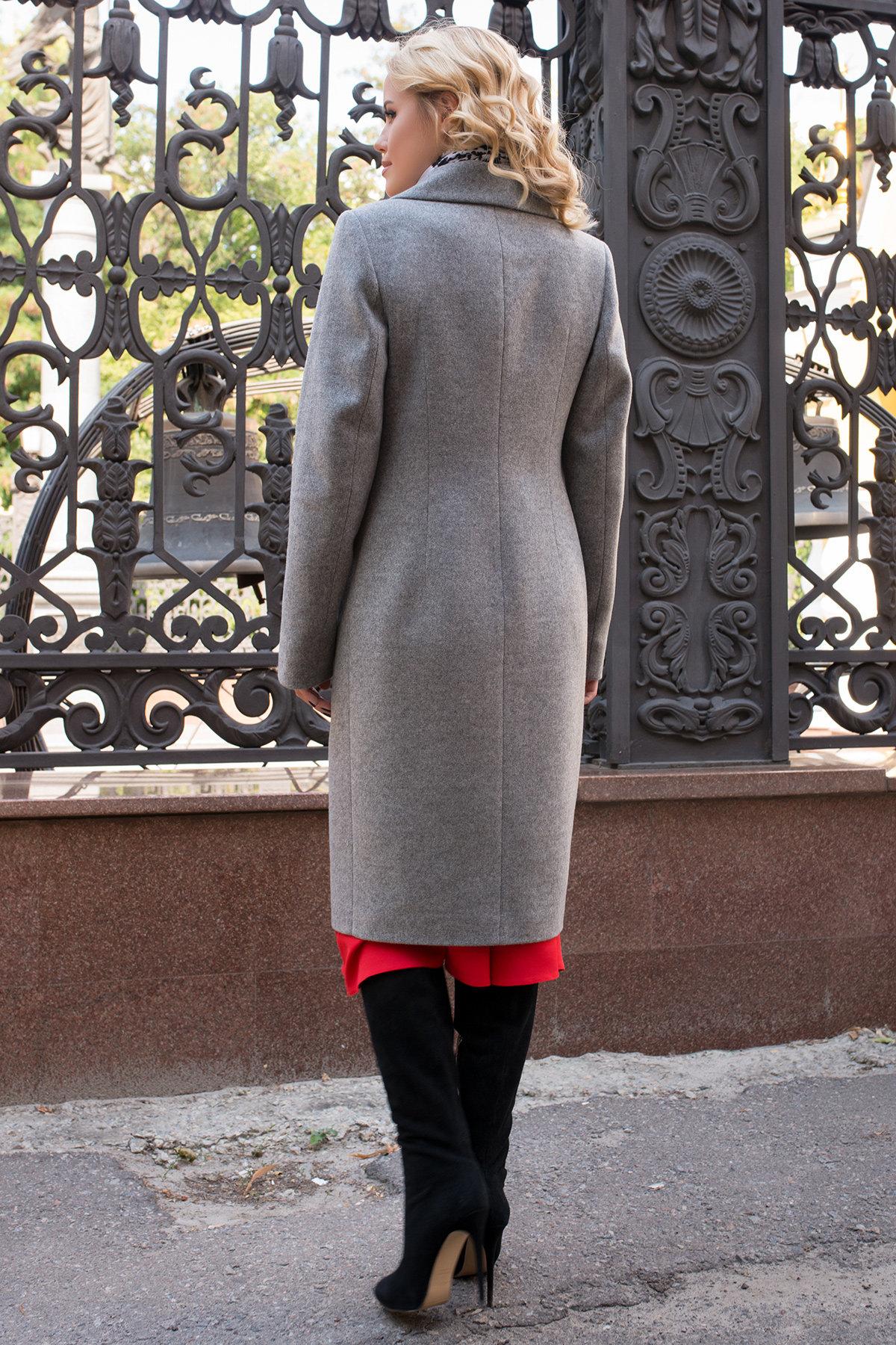 Пальто Мехико 6356 Цвет: Серый 1