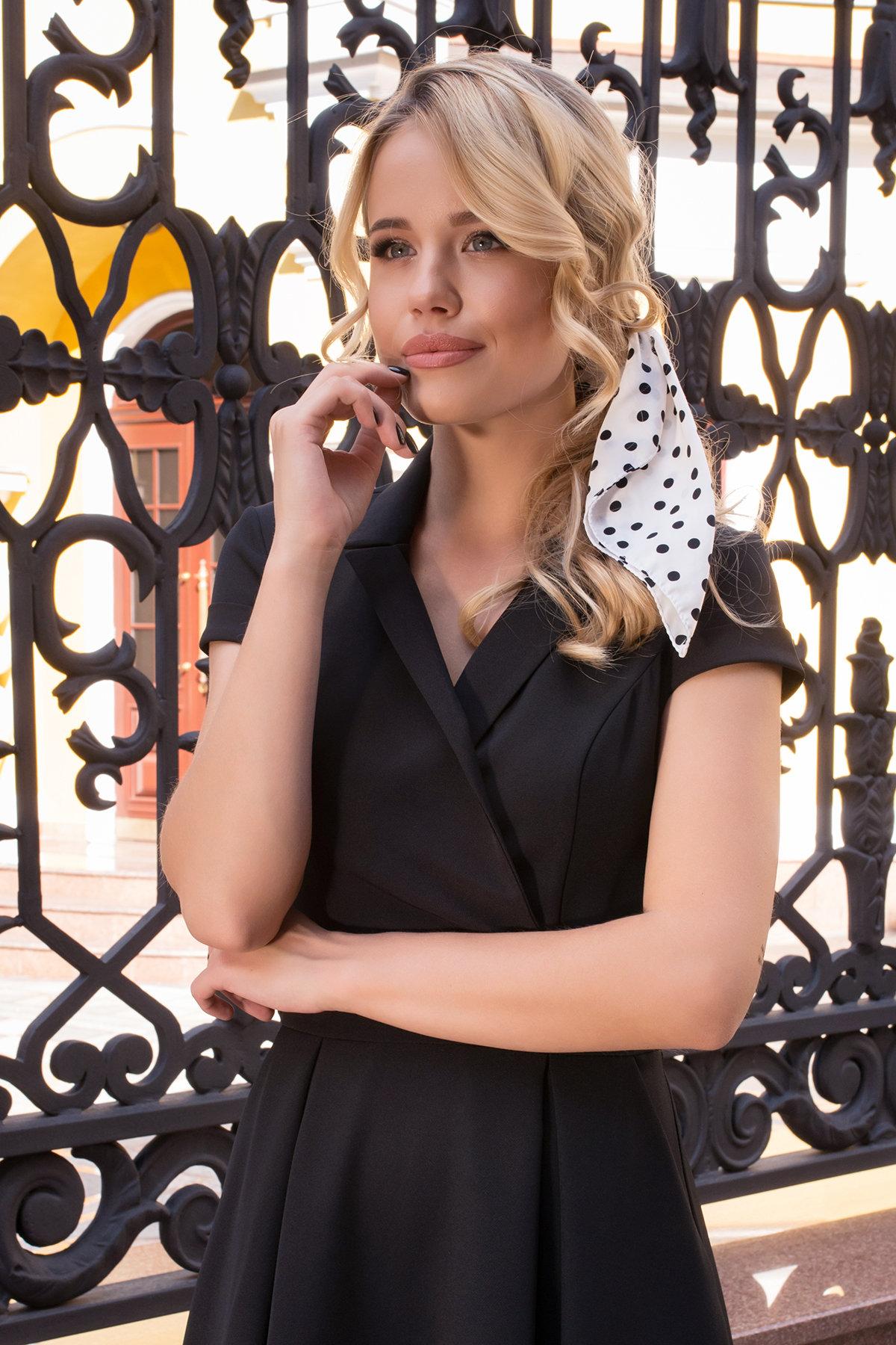 Деловое Платье Артего 7441 Цвет: Черный