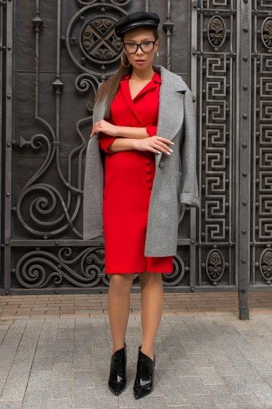 Элегантное платье Стрит 7833 Цвет: Красный