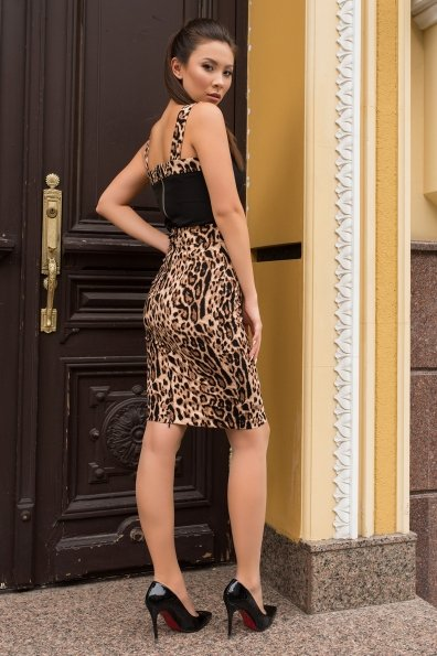 Костюм Лукка 7853 Цвет: Черный/леопард