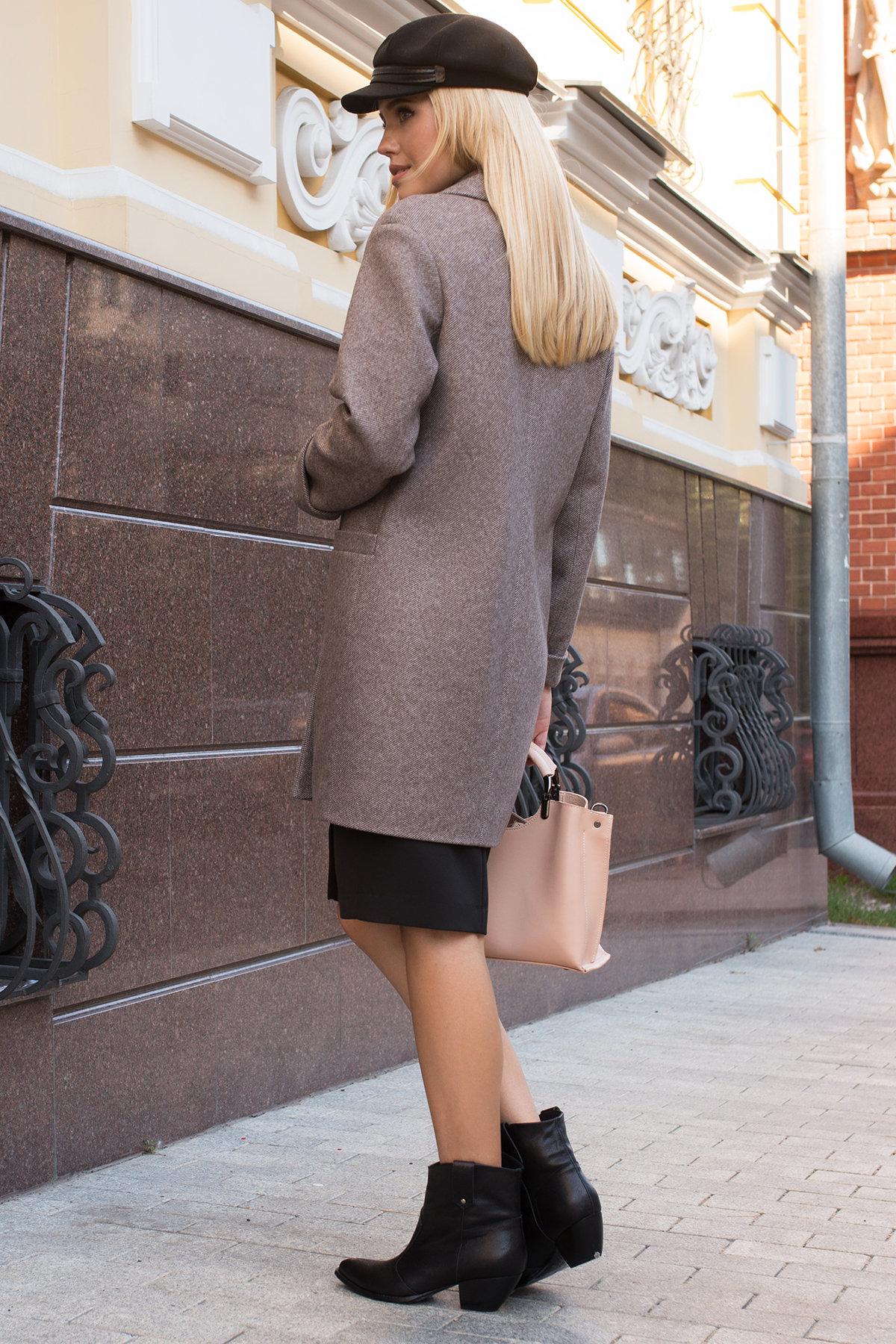 Пальто  Вива 7907 АРТ. 43863 Цвет: Шоколад - фото 3, интернет магазин tm-modus.ru