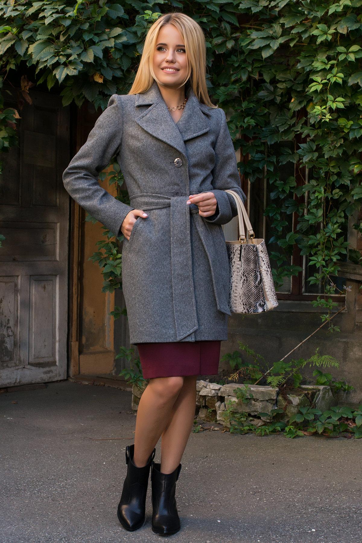 Пальто стеганное демисезонное женское цена от Modus Пальто Камила 7901