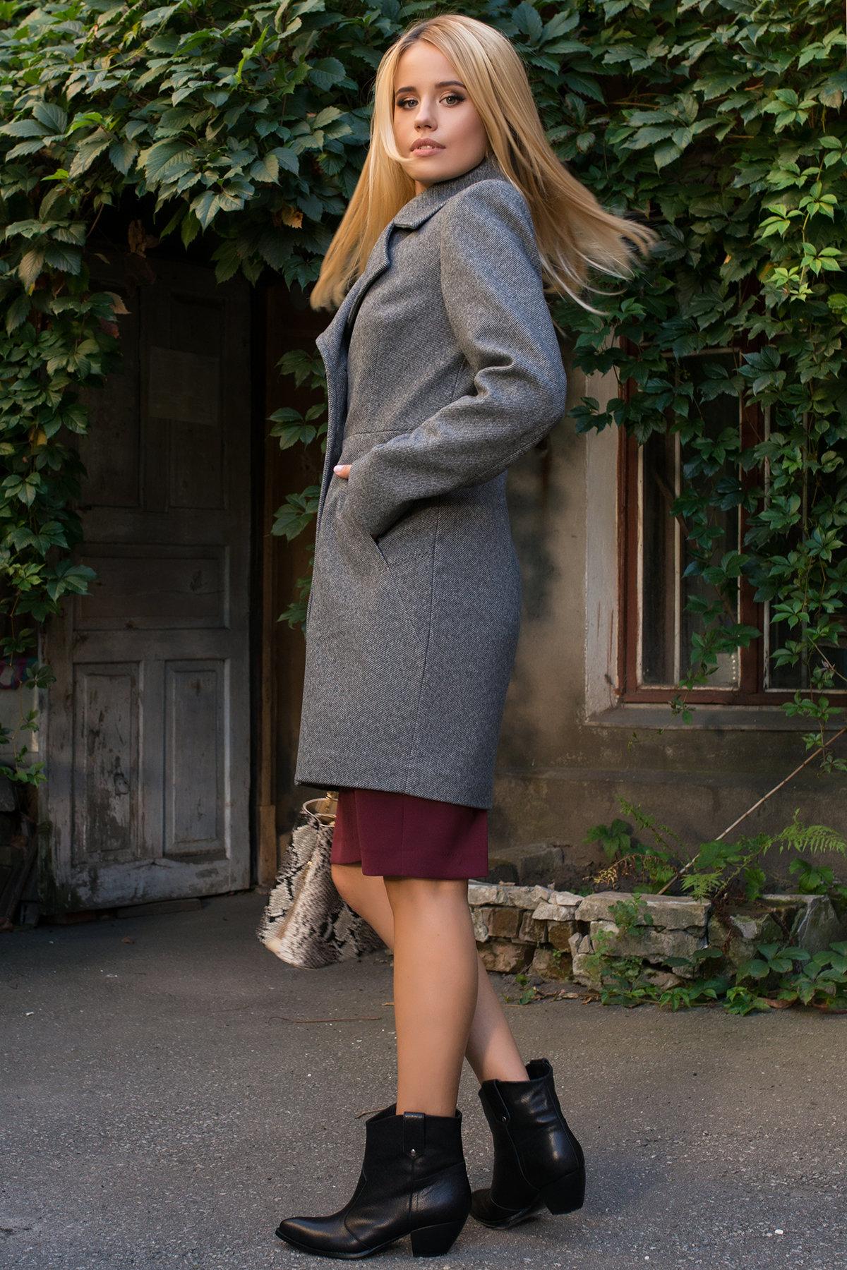 Пальто Камила 7901 АРТ. 43855 Цвет: Серый - фото 4, интернет магазин tm-modus.ru