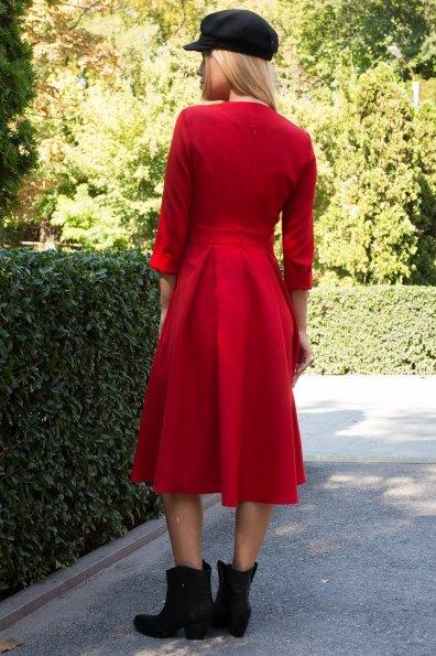 Платье с юбкой-солнце Аризона 7849 Цвет: Красный