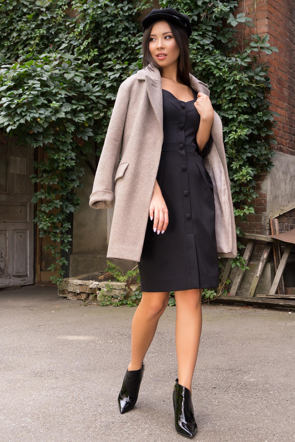 Платье-футляр Прованс 7871 АРТ. 43768 Цвет: Черный - фото 4, интернет магазин tm-modus.ru