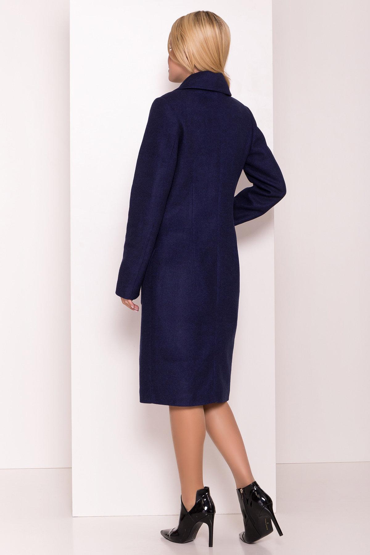Классическое пальто Габриэлла 7872 АРТ. 43799 Цвет: Т.синий 17 - фото 3, интернет магазин tm-modus.ru