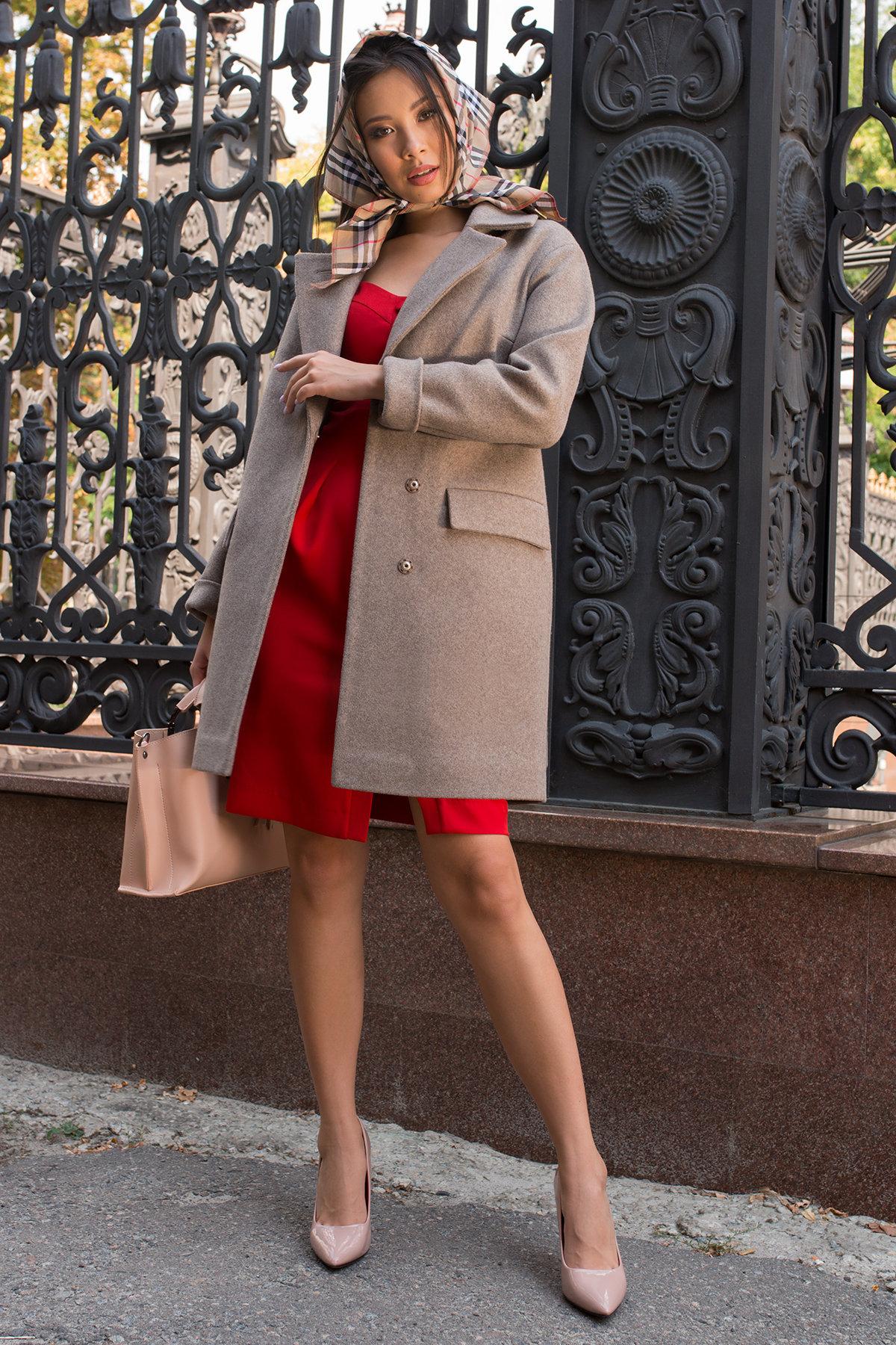 Платье-футляр Прованс 7871 АРТ. 43887 Цвет: Красный - фото 4, интернет магазин tm-modus.ru