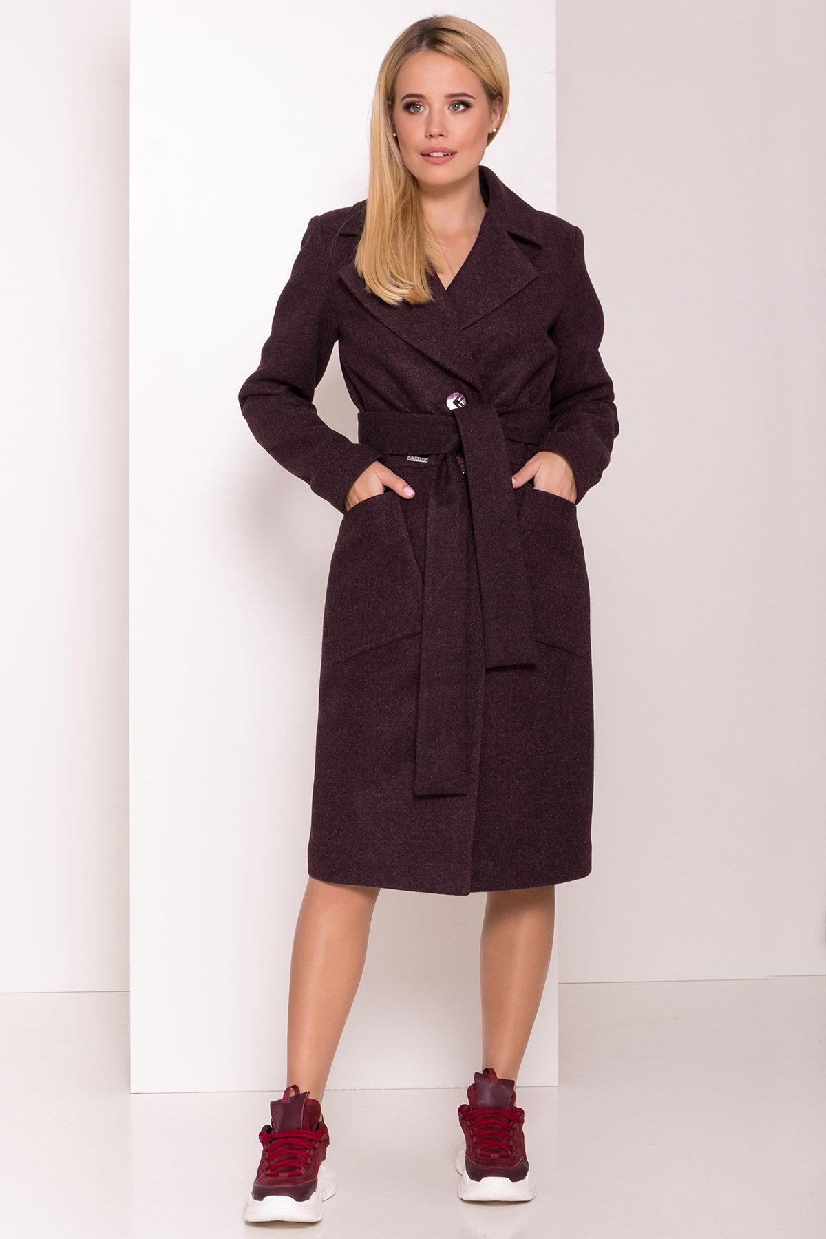 Пальто женское демисезонное купить в интернете Пальто Габриэлла 7872